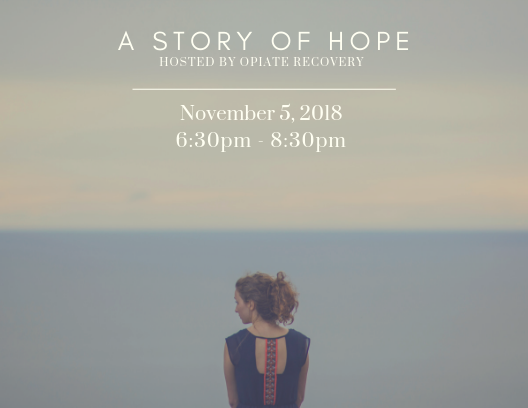 A Story of Hope - Join Travis Evans, his wife Lori, and several other special guests, as they share their stories of addiction and recovery. They will answer the following questions: 1) What does opiate/opioid addiction look like? 2) What are the pitfalls with the current detox/rehab protocol? 3) What does a