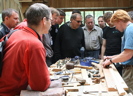 Another successful Woodland to Workshop Course took place at the sawmill