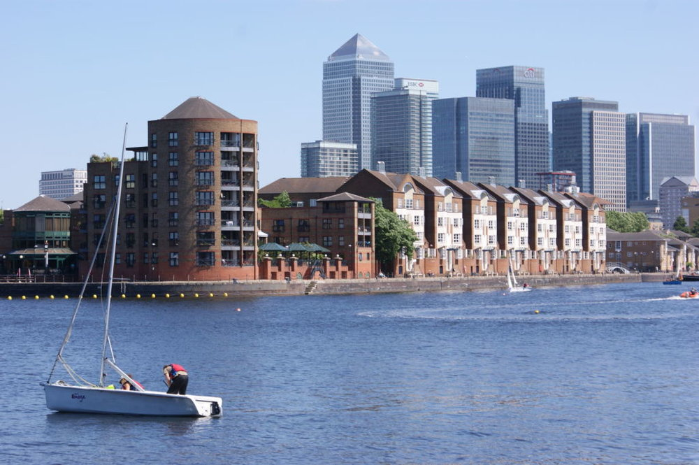 GreenDock with CanWharf.JPG