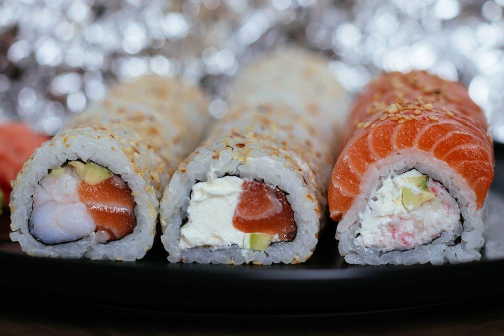 sushi poisson cru