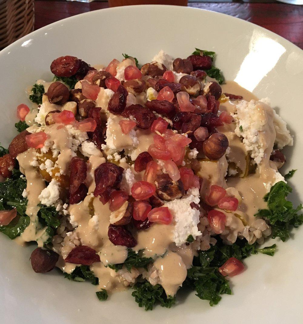 La Automn Kale Salad du Positive Café