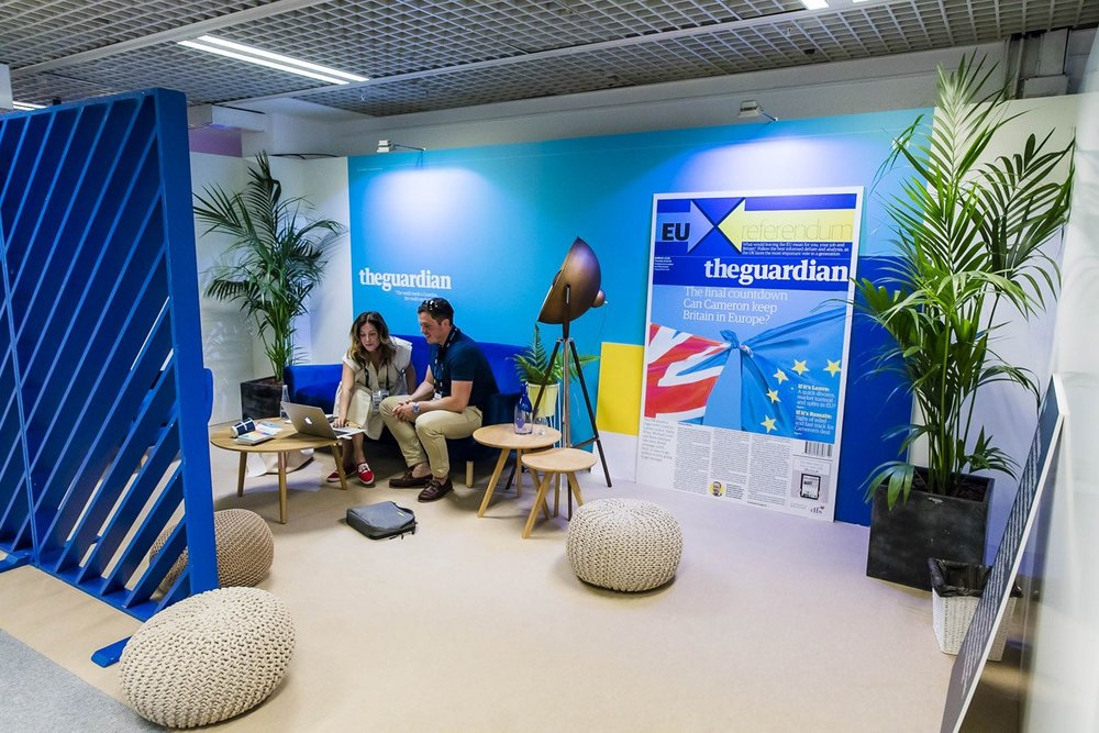 Guardian stand at Cannes Lions 2016