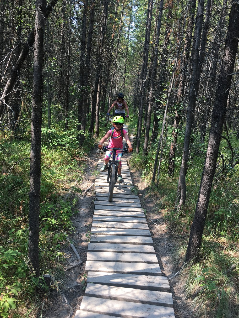 Me and Isla - we loved all the boardwalks on the trails!