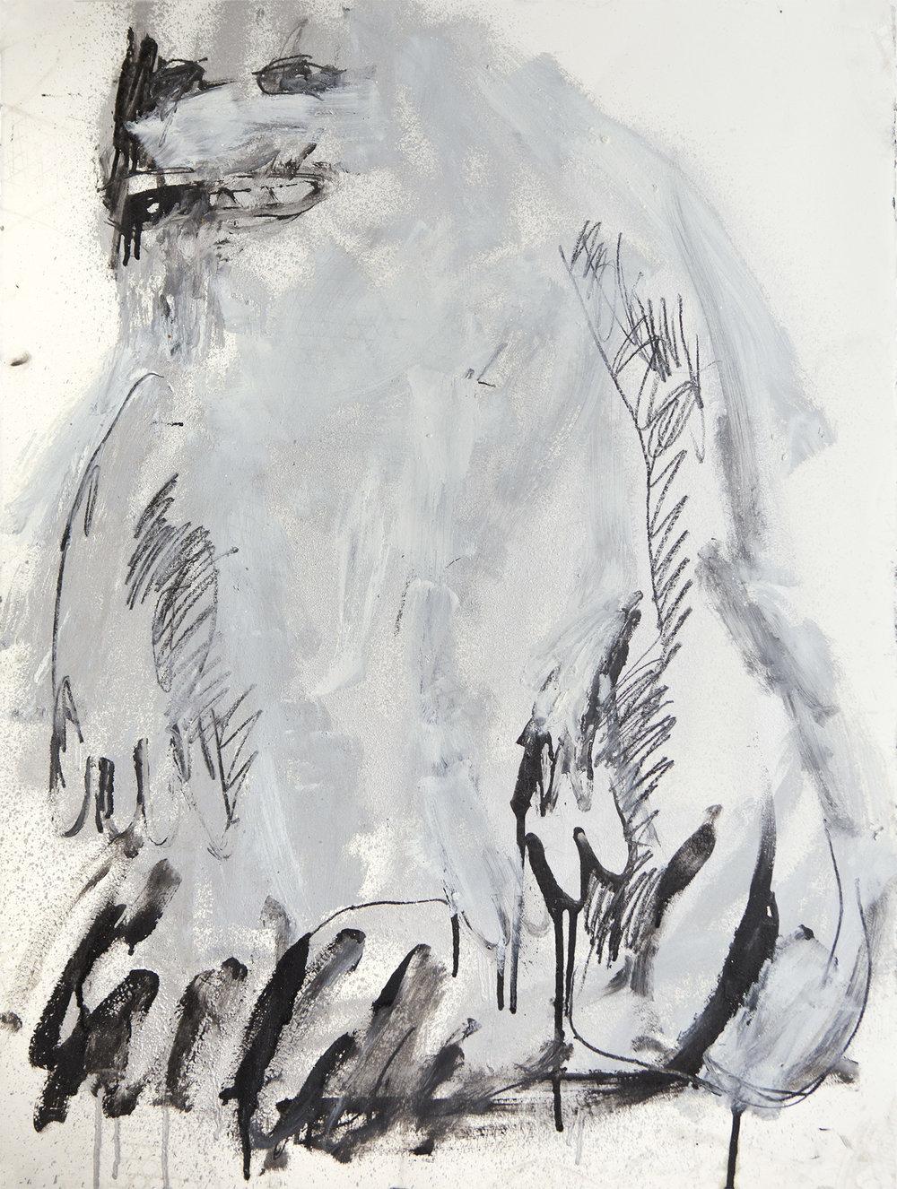 Psychedelic Silver Dream Ape, 2017