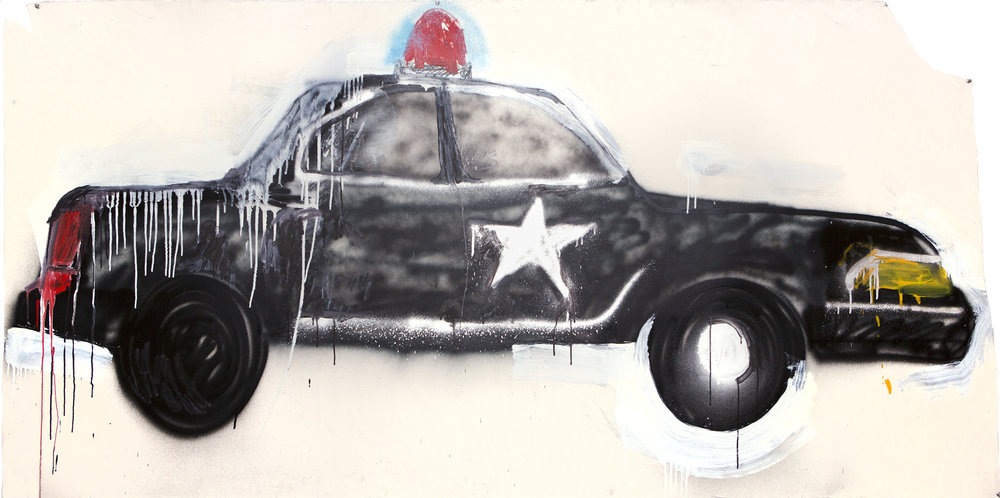 Fantastic Black Police Car, 2014
