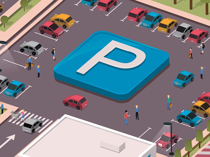 Systèmes de parking connectés - Solutions de parking avancées avec reconnaissance de plaques minéralogiques qui améliorent les possibilités de parking grâce à une connection avec des systèmes de paiements et une plateforme de données.