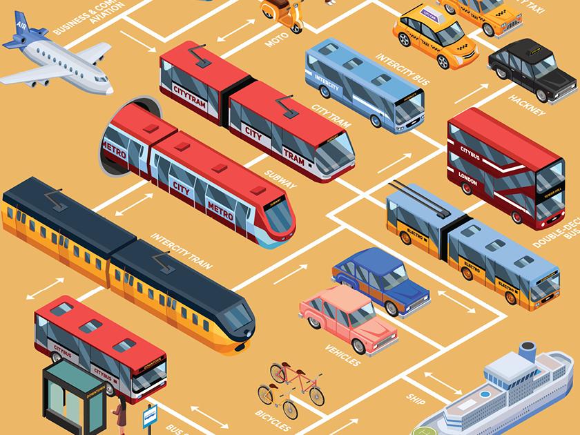 Sensibilisation aux plateformes de shared mobility - Campagne de sensibilisation aux nouveaux modes de transport comme le shared mobility via un jeu online.
