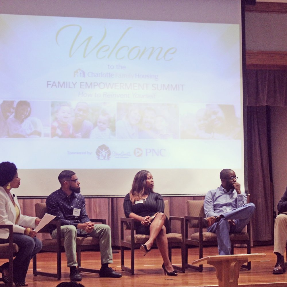 clt family housing summit brittney bogues panel discussion.JPG