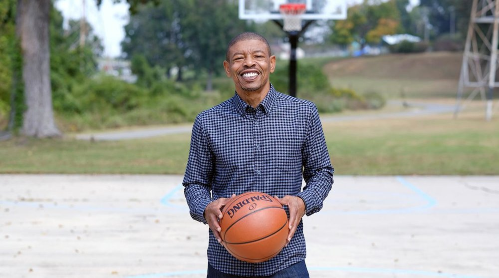 Muggsy Bogues lands Ash & Erie Clothing campaign - Through BCG, Client Muggsy Bogues became Ash & Erie's newest spokesperson/model and was subsequently interviewed in Sports Illustrated.