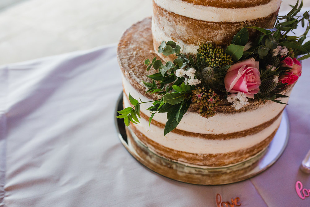 Jess and Ben - Liverpool wedding - wedding cake details