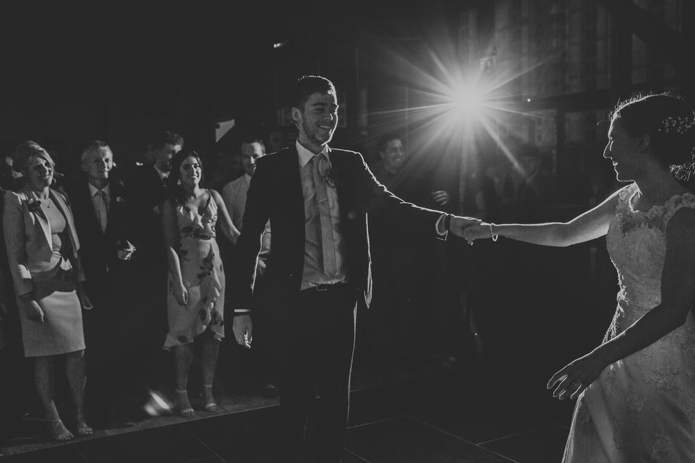 Jess and Ben - Liverpool wedding - bride and groom's first dance