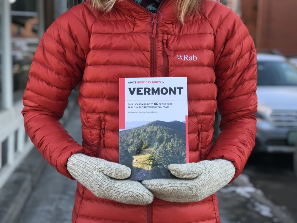 "AMC's ""Best Day Hikes in Vermont"", written by Jen Roberts"