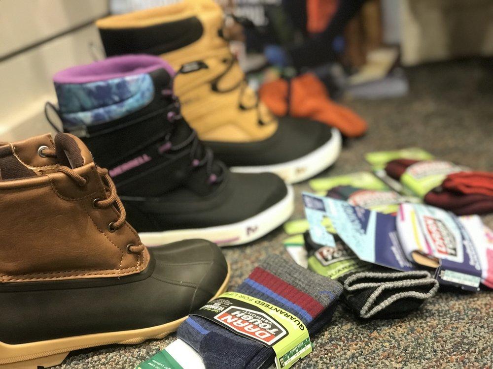 Sperry Boots | Merrell Boots | Darn Tough Socks