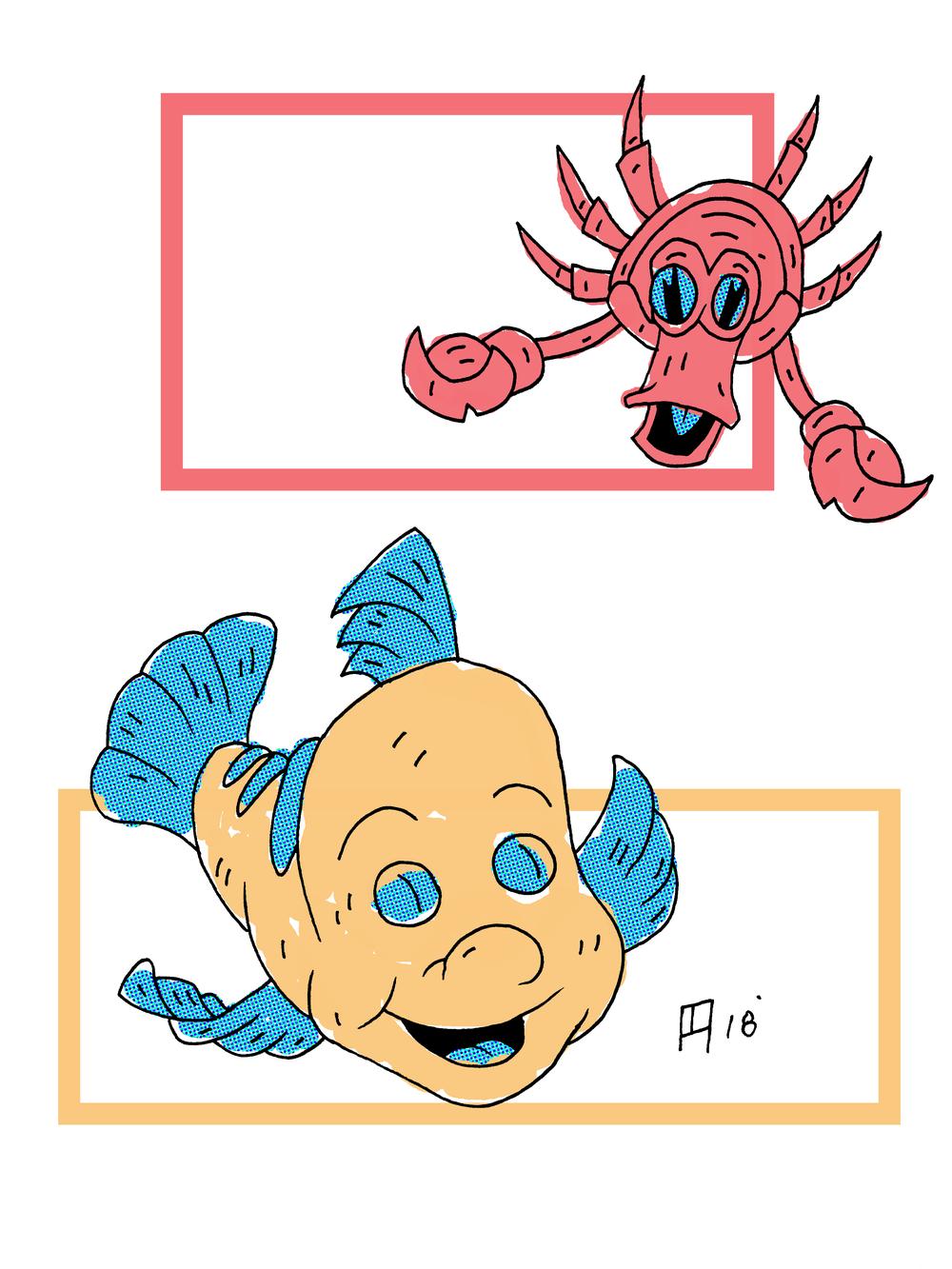 Sebastian/Flounder