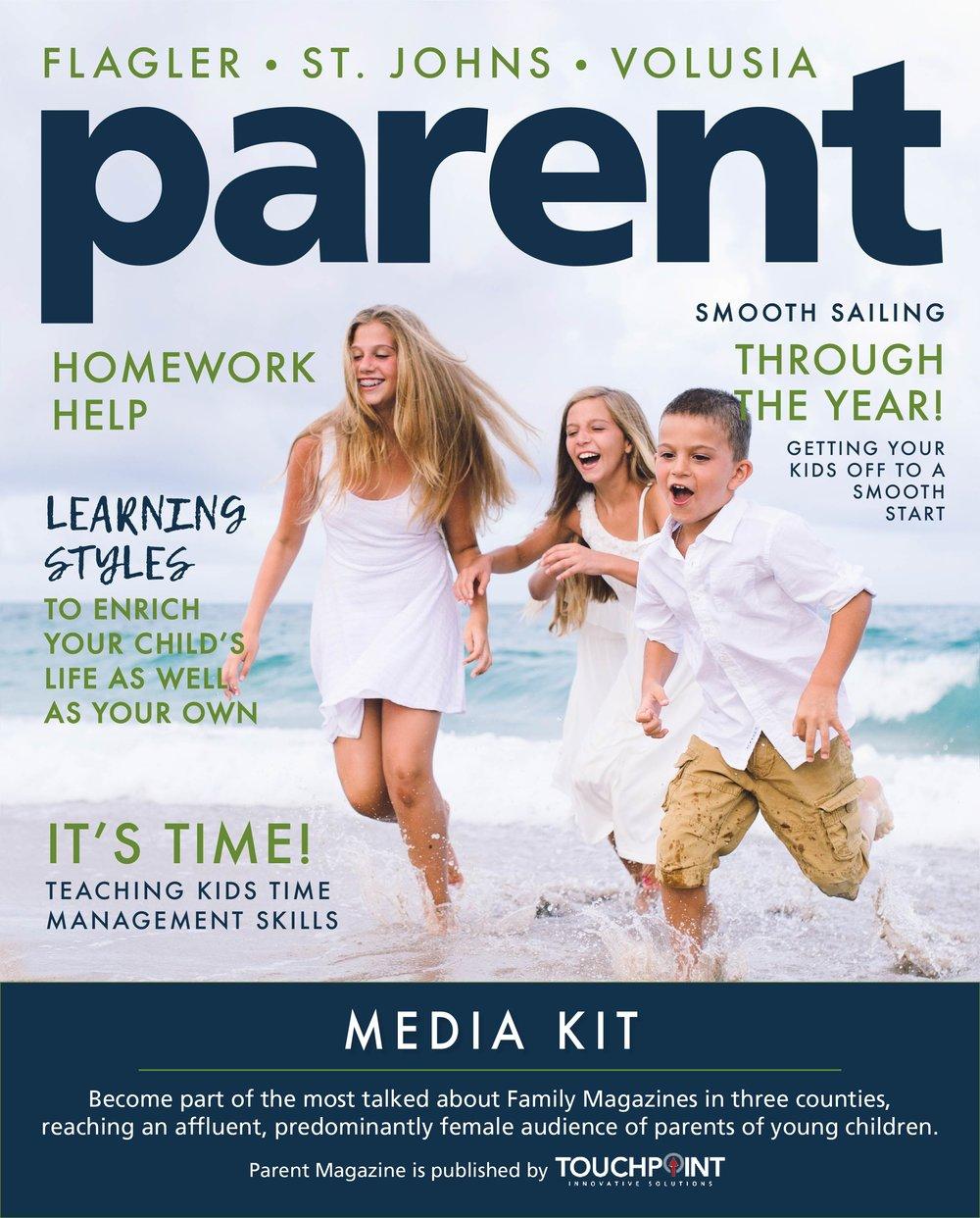 Parent Magazine Media Kit Summer