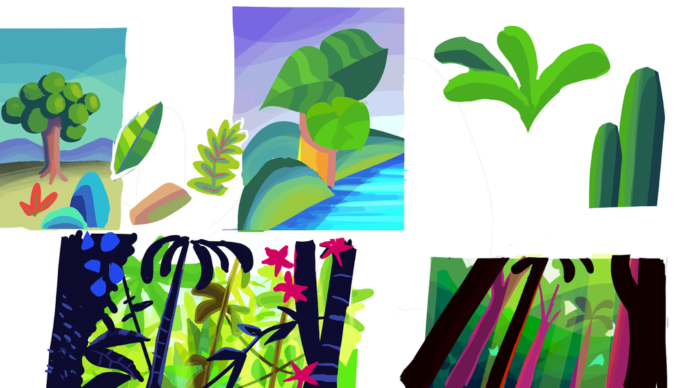 Studies in vegetation - Thiago Soares