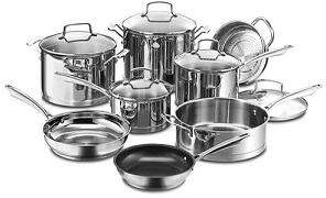 SS Cookware Items