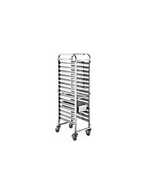 SS Pan/Tray Trolley