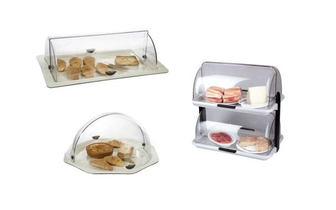 Acrylic Buffet Displays