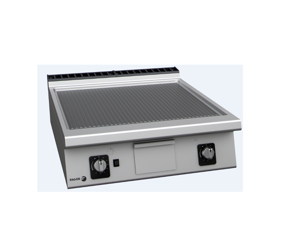 Fry Top Griddle Ribbed