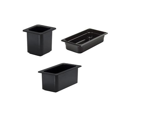 Polycarbonate GN Pans (Black)