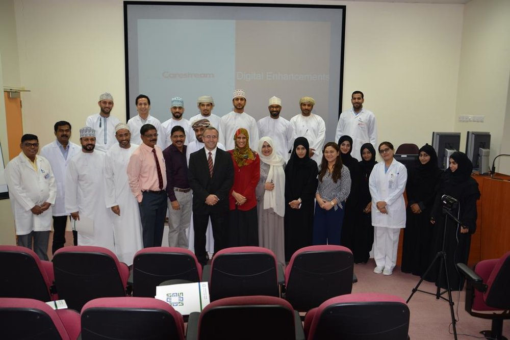 Advanced Digital Radiography Workshop Armed Force Hospital - Oman