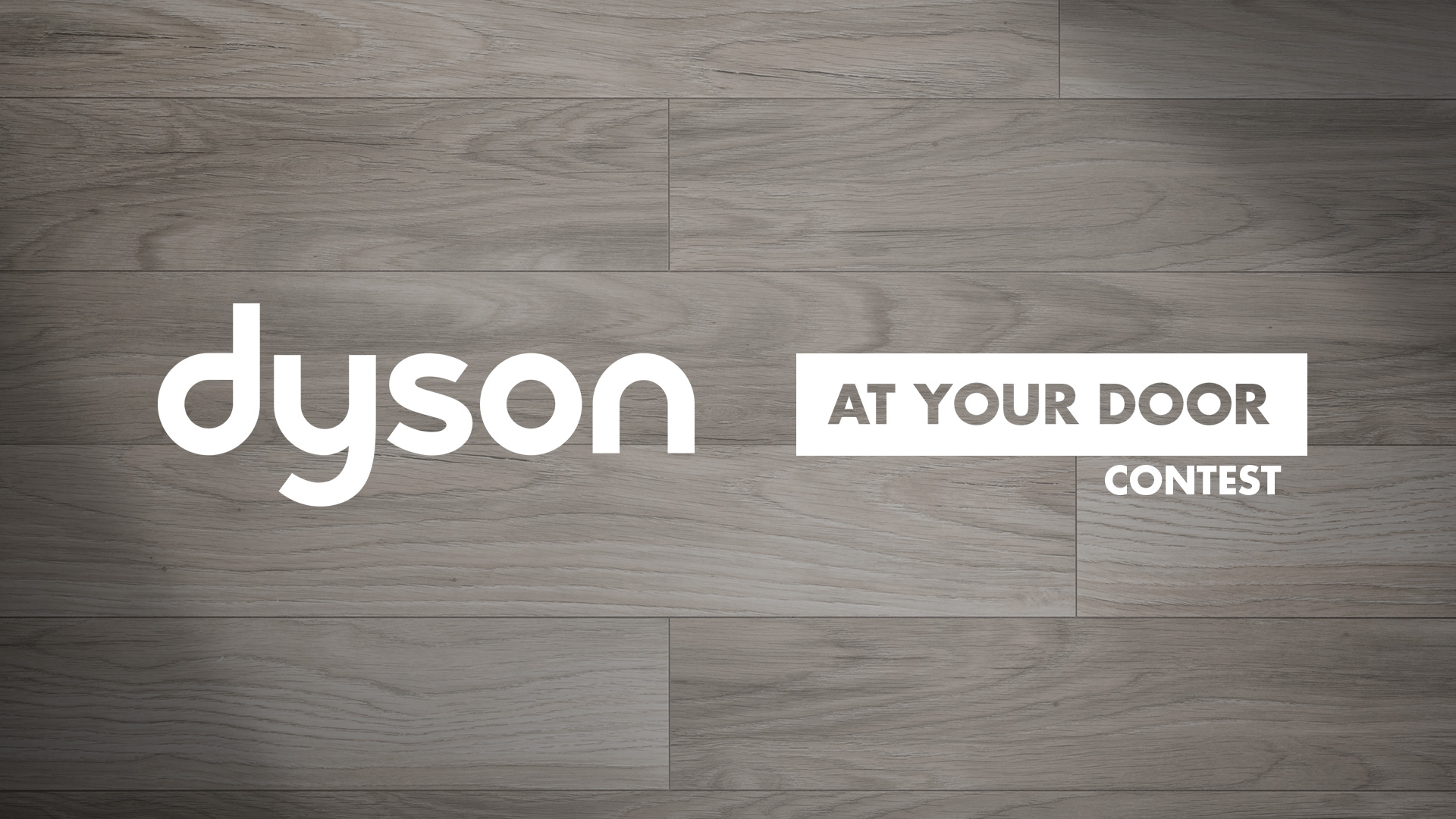Dyson At Your Door Contest Aaron Bamford