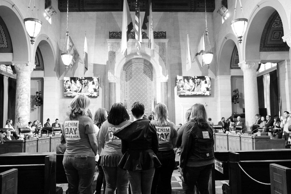 Los Angeles City Council 2017 Denim Day Proclamation