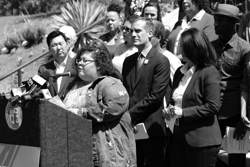 Yesika Salgado, Poet. Inspired everyone with a spoken word performances.