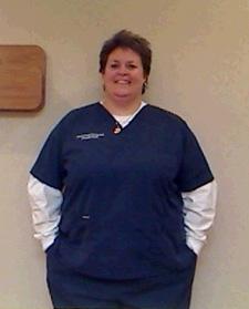 Julie before surgery
