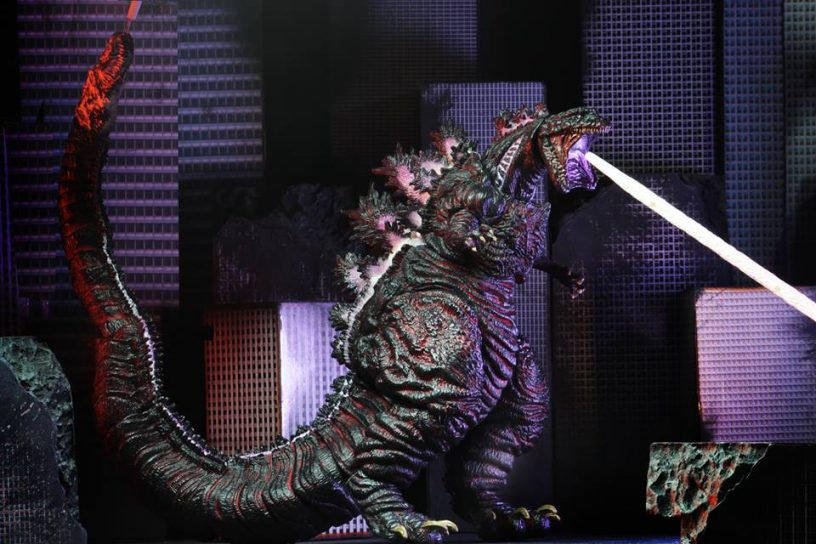 "2016 Shin Godzilla 12/"" Head to Tail action figure Godzilla NECA"