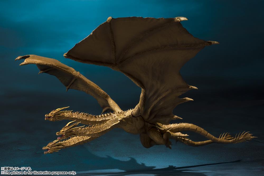 Godzilla King of the Monsters SH MonsterArts King Ghidorah 2.jpg