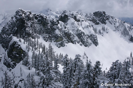 Kendell Peak ridgeline, Snoqualmie Pass, Washington Cascades