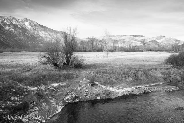 Similkameen River and Chopaka Mountains.