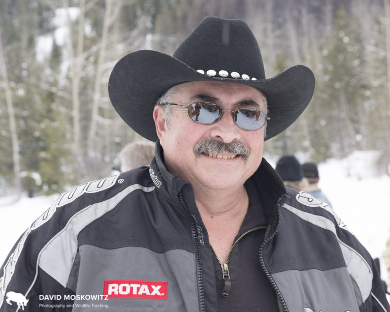 Gilbert Desrosiers is president of the Beaver Mountain snowmobile club in the West Kootenay mountains and has worked with the province of BC and the Nature Conservancy of Canada to ensure responsible riding in the Kootenays.