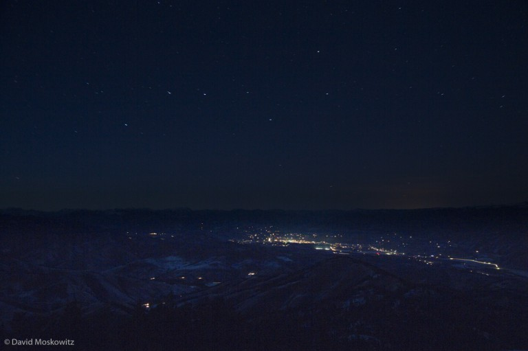 Big Dipper over WInthrop Washington.