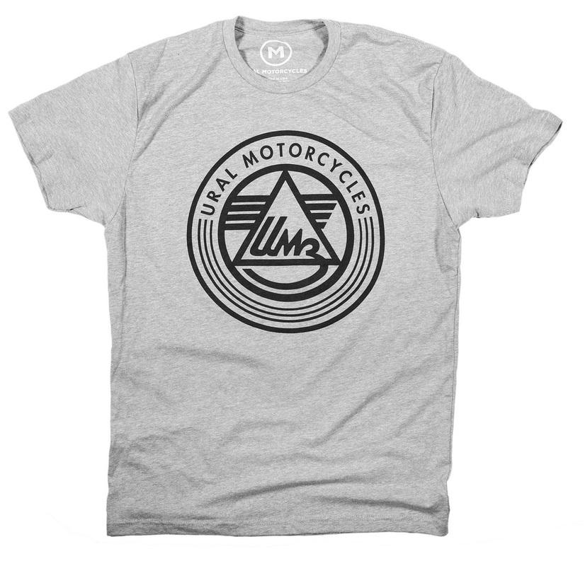 Ural Logo T-shirt Grey (Sz M, L, XL, 2XL, 3XL)