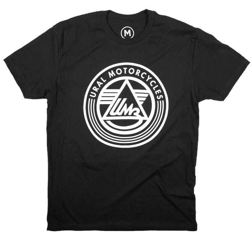 Ural Logo T-shirt Black (Sz M, L, XL, 2XL, 3XL)
