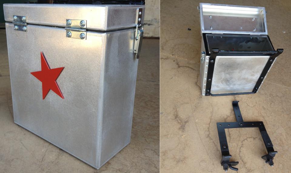 Baraholka Box Set, sold individually, inc mounting holder and brackets Flat Black or Aluminium