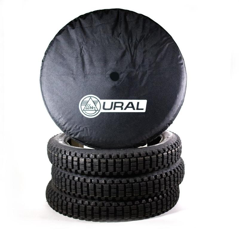 Spare Wheel Cover Cordura with Ural Logo