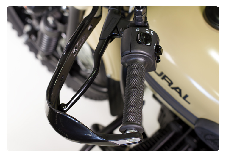 Ural Hand Guards as fitted to Sahara model