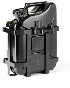 Jerry Can and Holder - Black
