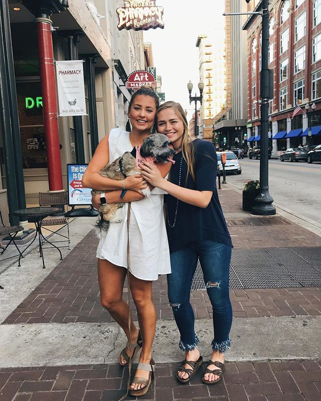 We love meeting up with our sisters over summer, especially in our favorite city, Knoxville!!