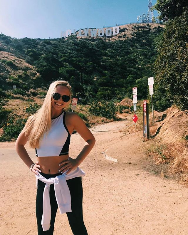 Our gal @oliviamcgowan21 living it up, ☆ ☆Hollywood style ☆ ☆!!