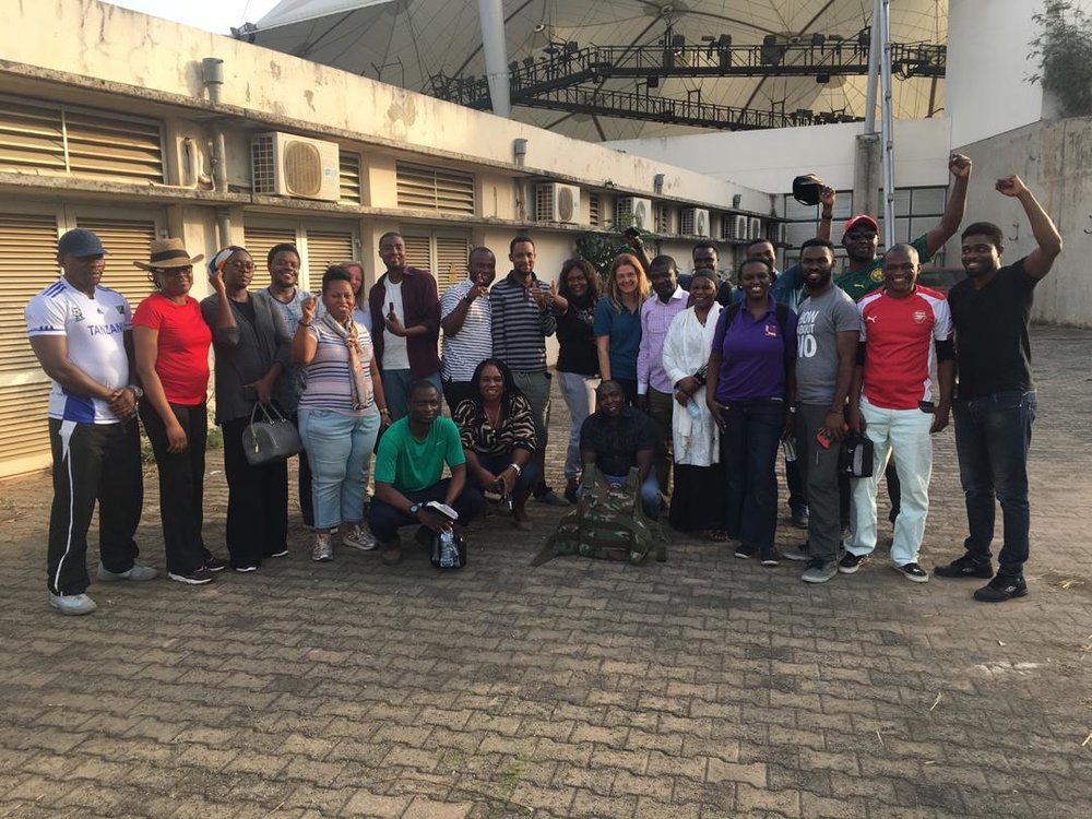 Abuja march HEAT COURSe - It's been a busy week, but the HEAT course has gone well. Our team will be heading to Bauchi Next week for another 3 day HEAT course.For more information about our courses contact mail@spear-fish.com or visit us at spear-fish.com