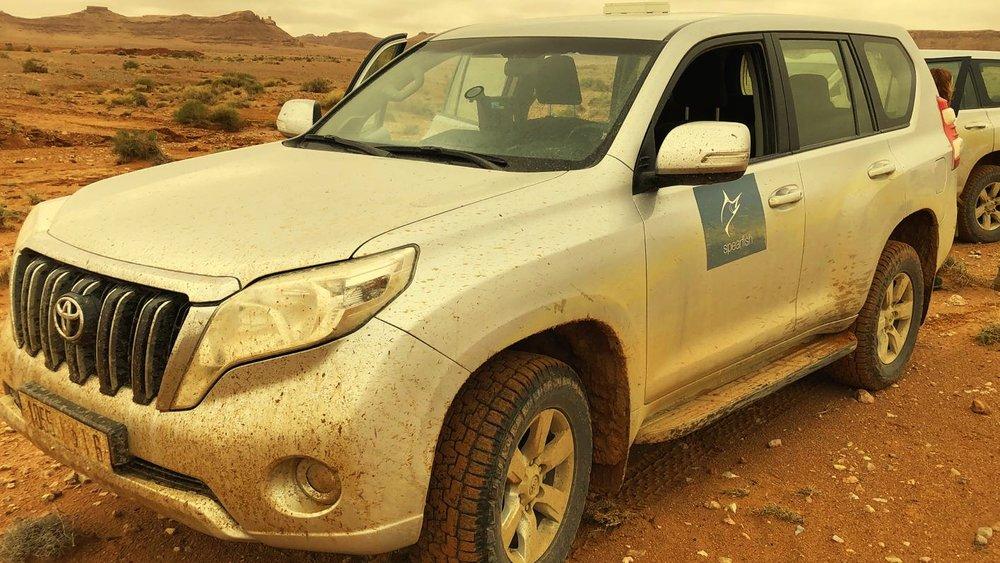Spearfish hits the desert road -