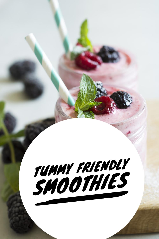 Tummy-Friendly Smoothies