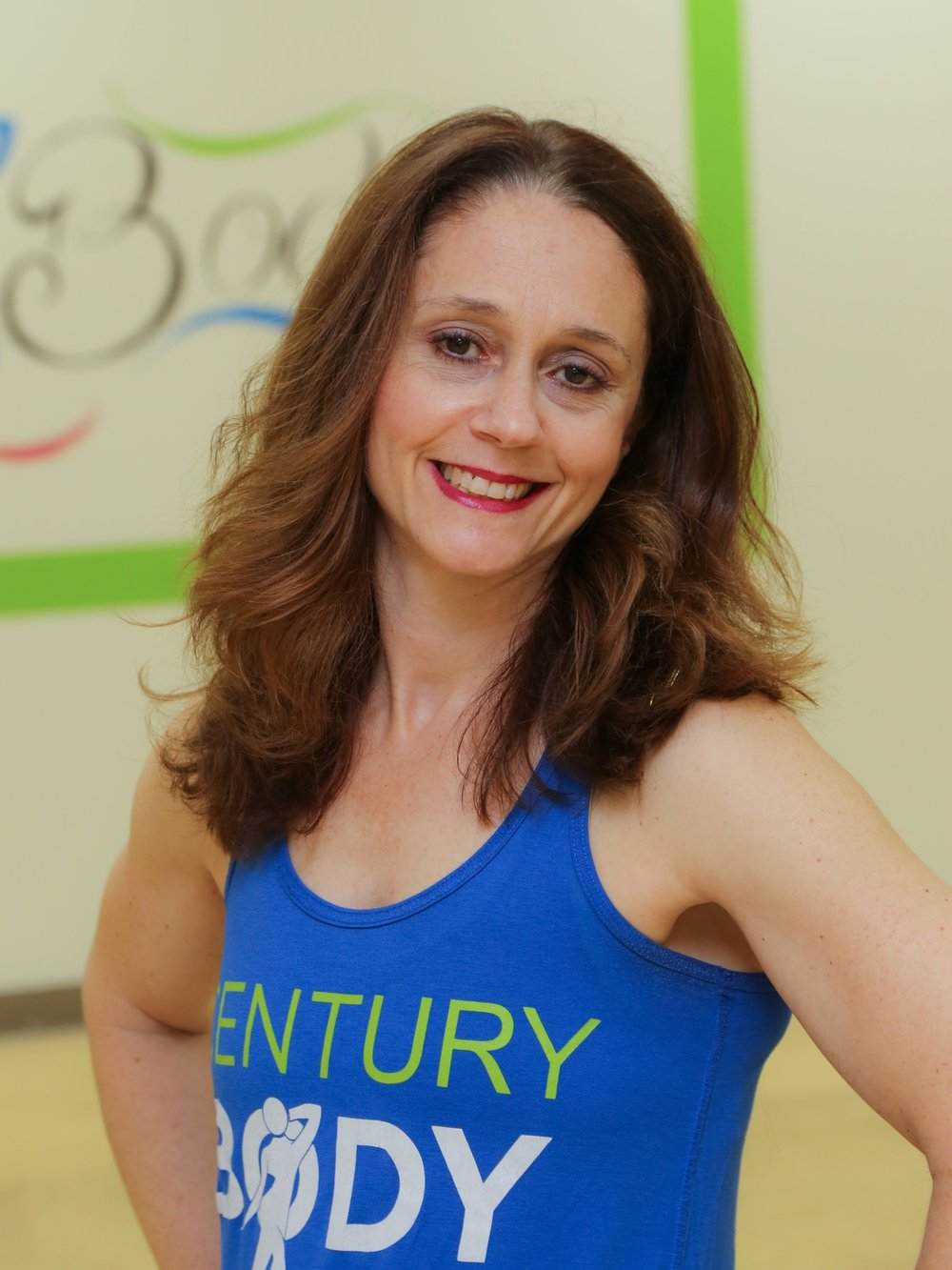 Jennifer Rubenkoenig   I'm the owner and lead Zumba® Fitness instructor at Century Body. I've been passionate about helping those interested in living a healthy lifestyle, spending — years as a Weight Watchers® coach and eight years as a Zumba® Fitness instructor. At Century Body, the goal is to live in our bodies until we are 100! Zumba® Fitness is my preferred form of cardio because it makes me feel free and happy — no matter how bad a day I might have. As soon as the music starts, I forget all my worries! As an instructor, I love seeing how students move differently to songs, how they make it their own, how they smile and laugh and sweat all at once. I can't wait to meet you!
