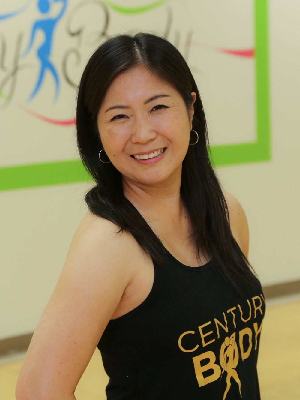 Tomoka Ichikawa   I've been part of the Century Body crew for 5 years. Zumba® Fitness captures everything I love — dance, music and passion. There's something unifying about having fun on the dance floor and getting sweaty together. My main goals as an instructor is to see you happy. If that means putting together a high energy playlist that gets you jumping all across the dance floor, then so be it. Come and join the fun!