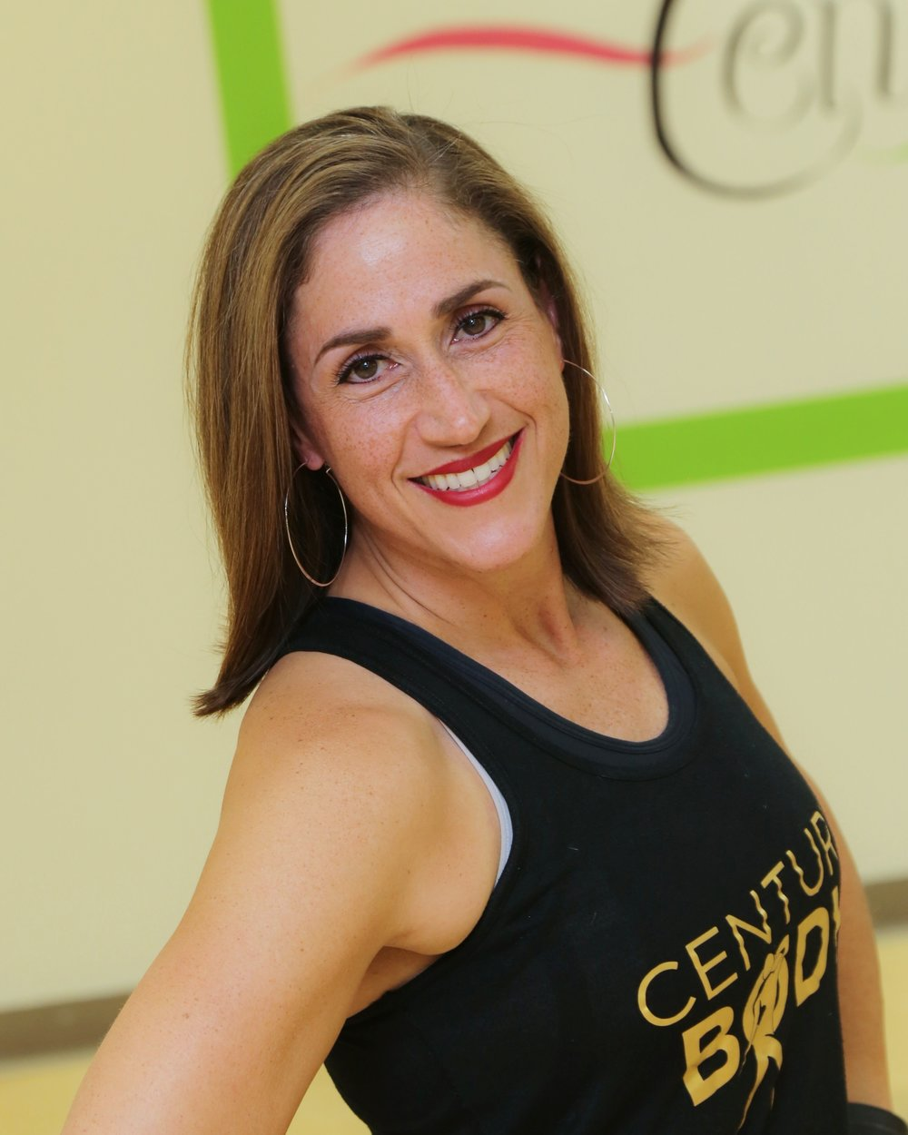 María López Schoenherr   I'd been part of the Century Body family for a year before becoming an instructor. I love, love, LOVE everything about Zumba® Fitness — the music, the language, the energy, the sweating! As an instructor, I love sharing the rhythms, movements, language and joy of my culture with the students. Zumba® Fitness is such a personal experience for me because I grew up listening and dancing to this music. It means so much to me to share my upbringing with others and doing it while staying fit is a bonus. Even though I was left out of the staff tidbits for the 2018 Fall Challenge, I look forward to continue spreading the joy of Zumba® Fitness and maybe even teaching you some Spanish! Come and dance with me!